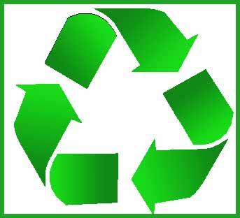 We recycle 100% of our products